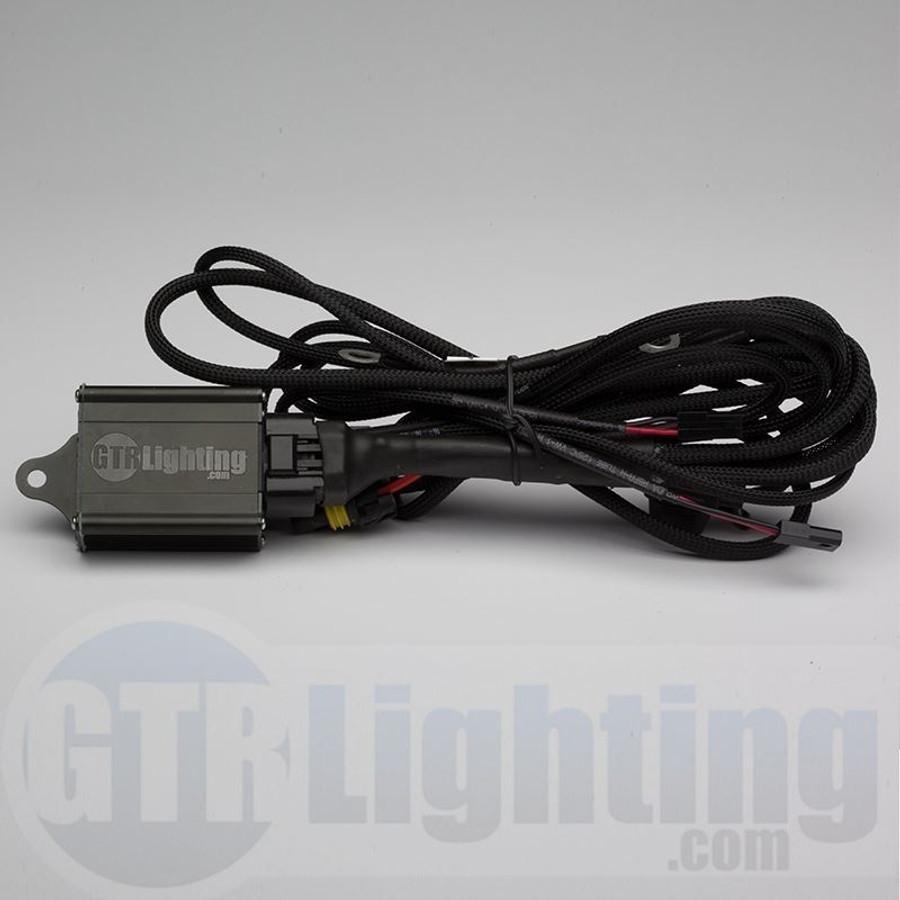 GTR Lighting Dual Beam HID Relay Harness - H13 Style