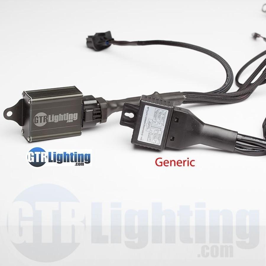GTR Lighting Dual Beam HID Relay Harness - 9007 Style