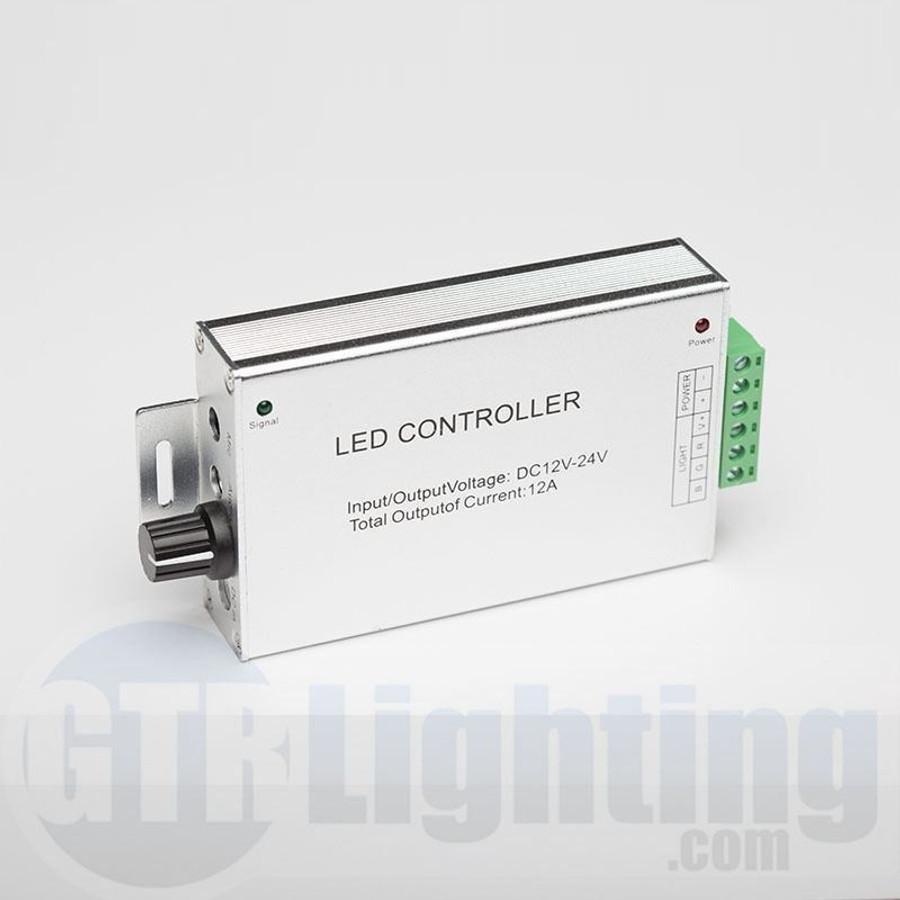 GTR Lighting Audio Style RF Controller for RGB LED