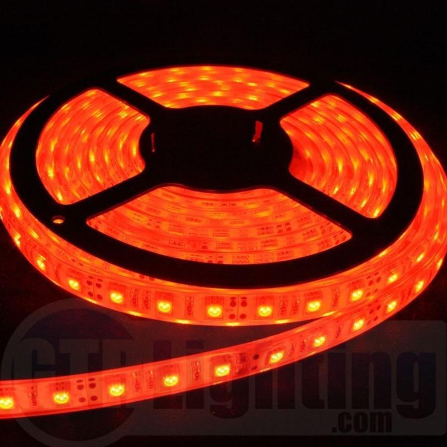 GTR Lighting 5m (16.5') Flexible LED Strip, Regular Style, Water Resistant, IP65