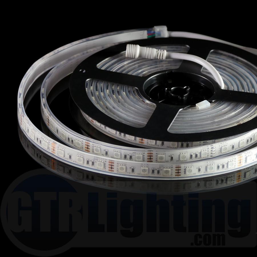 GTR Lighting 5m (16.5') Flexible LED Strip, Heavy Duty, Waterproof IP68