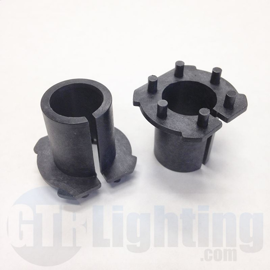 GTR Lighting Mazda H7 HID Bulbs Adapters (New Style)