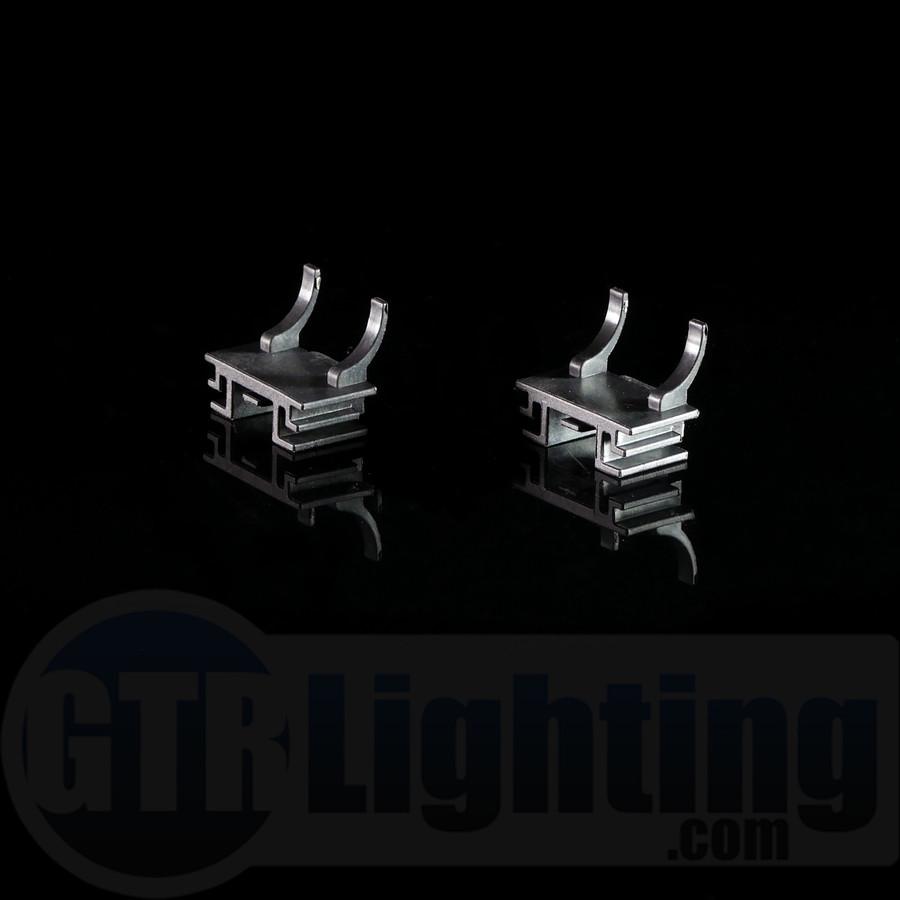 GTR Lighting Fiat H7 HID Bulbs Adapters (New Fiat 500)