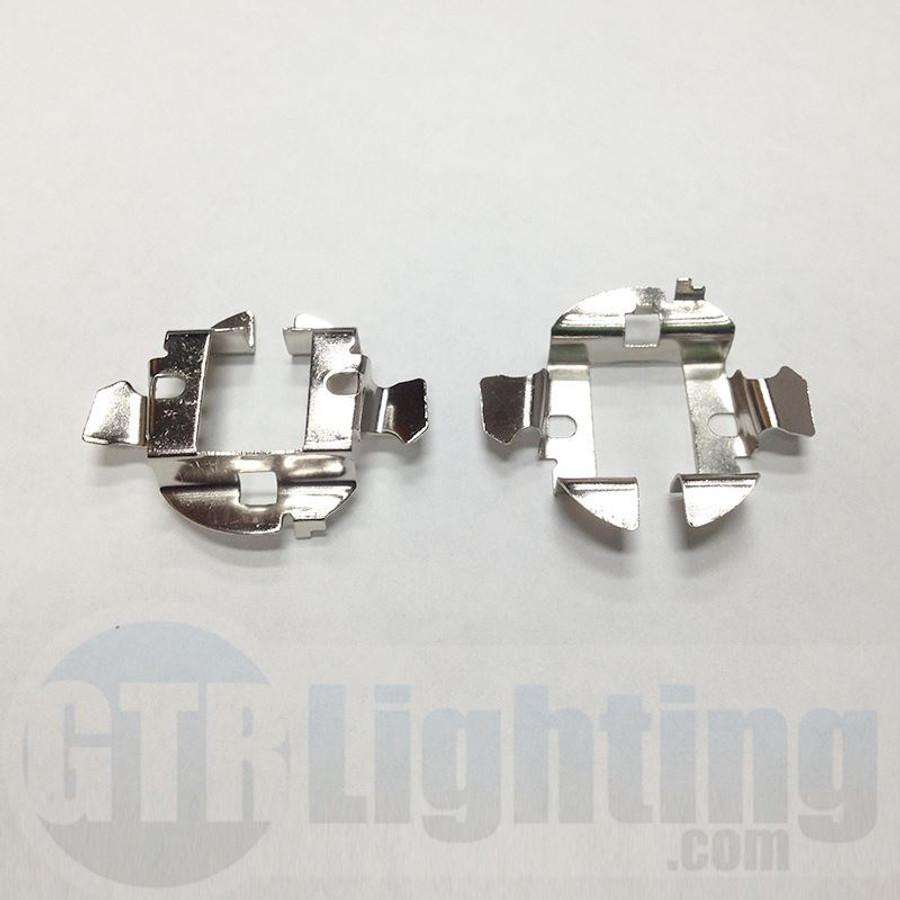 GTR Lighting Mercedes/Audi/BMW Metal H7 HID Bulbs Adapters