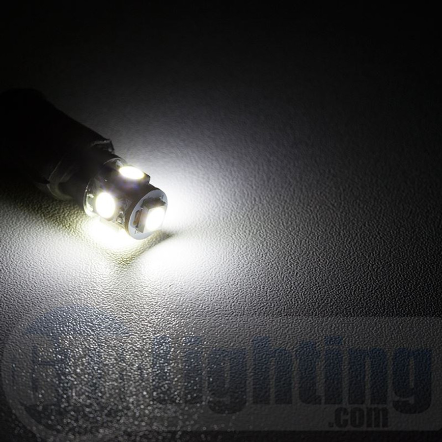 GTR Lighting T10 / 194 / 168 5-LED Bulbs