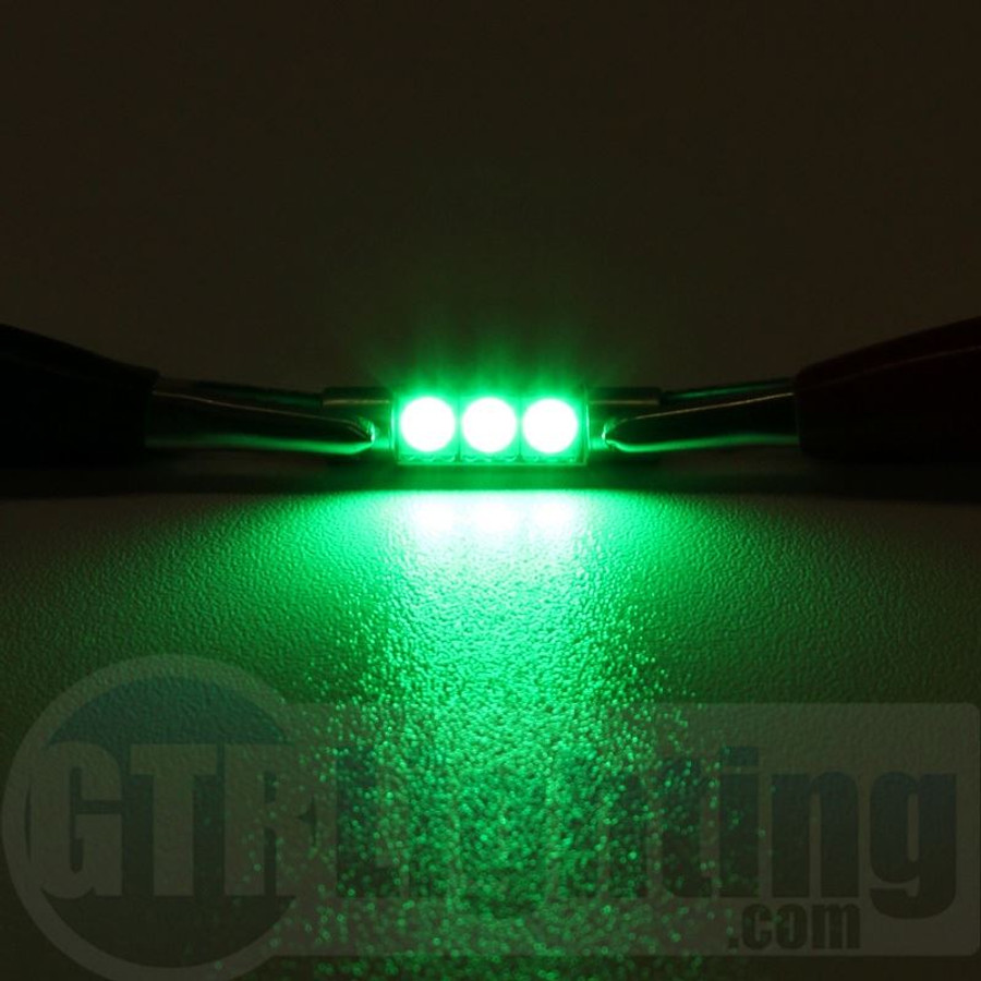 "GTR Lighting 29MM ""Vanity"" Festoon 3-LED Bulbs"