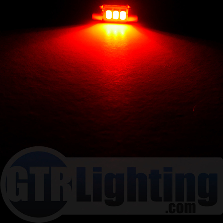 GTR Lighting 31mm CANBUS Festoon LED Bulbs