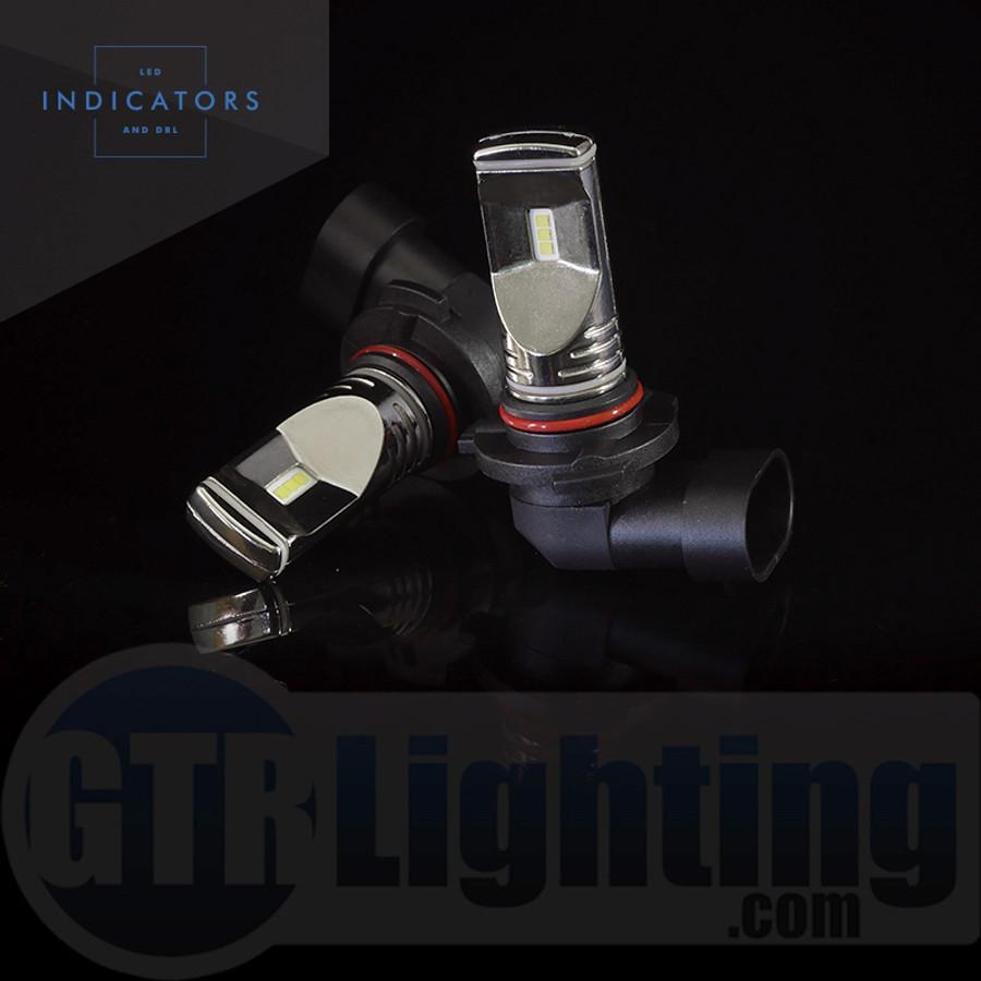 GTR Lighting Fog / DRL Ultra Series 9005 / H10 LED Bulbs