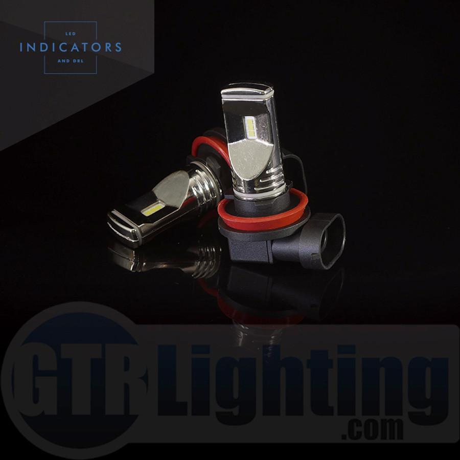 GTR Lighting Fog / DRL Ultra Series H11/ H8 / H9 LED Bulbs