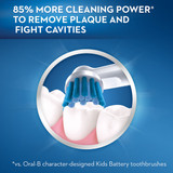 Oral-B Pro-Health Sparkle Fun Battery Kids Toothbrush with Replaceable Sensitive Brush Head, for Kids 3+