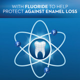 With fluoride
