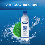 With soothing mint