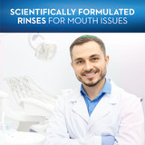 Scientifically formulated rinses for mouth issues
