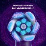 Oral-B iO Series 8 Electric Toothbrush and Brush Head Bundle, Violet Ametrine