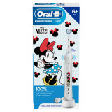 Kids Electric Toothbrush featuring Disney's Minnie Mouse, for Kids 6+