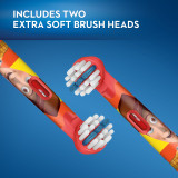 Kids Extra Soft Replacement Brush Heads featuring Disney Pixar ToyStory, 2 count