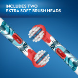 Kids Extra Soft Replacement Brush Heads featuring STAR WARS, 2 count