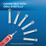 Compatible with Oral-B refills (all brush heads sold separately)