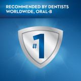 Recommended by dentists worldwide, Oral-B