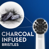 Oral-B Charcoal Electric Toothbrush Replacement Brush Heads Refill, 2-Count
