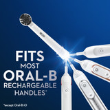 Oral-B Charcoal Electric Toothbrush Replacement Brush Heads Refill, 3-Count