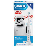STAR WARS Kids Electric Toothbrush for Kids Ages 6+