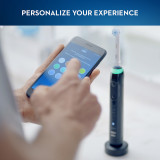 Genius 9600Rechargeable Electric Toothbrush, Black