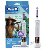 Crest and Oral-B Kids Disney Raya and the Last Dragon Toothbrush Bundle, 4-Piece Set