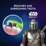 Kid's Battery Toothbrush featuring Disney's Mandalorian, Soft Bristles, for Kids 3+