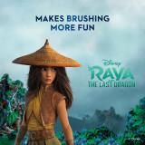 Kid's Battery Toothbrush featuring Disney's Raya, Soft Bristles, for Kids 3+