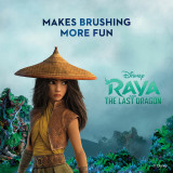 Kid's Manual Toothbrush featuring Disney's Raya, 2-count