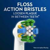 Oral-B FlossAction with Bacteria Guard Bristles Electric Toothbrush Replacement Brush Heads