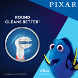 Kids Extra Soft Replacement Brush Heads featuring Pixar Favorites, 2 count