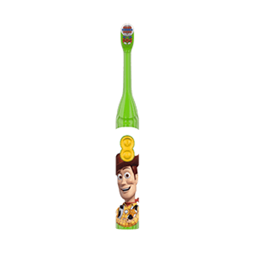 Oral-B Kid's Battery Toothbrush featuring Disney Pixar's Toy Story, Soft Bristles, for Kids 3+