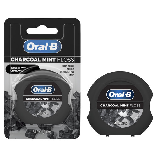 Oral-B Charcoal Infused Mint Floss