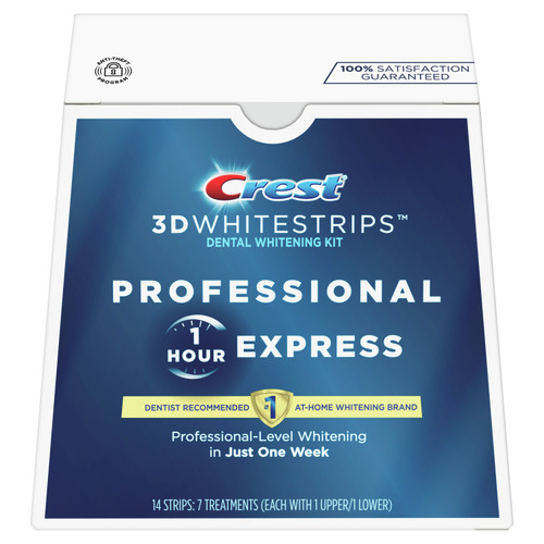 Crest 3DWhitestrips Professional 1 Hour Express