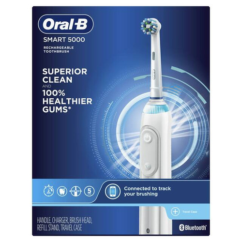Oral-B Smart 5000 Rechargeable Electric Toothbrush
