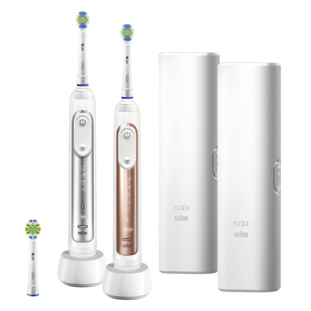 2-Pack Oral-B Smart Series Bluetooth Enabled Electric Toothbrush