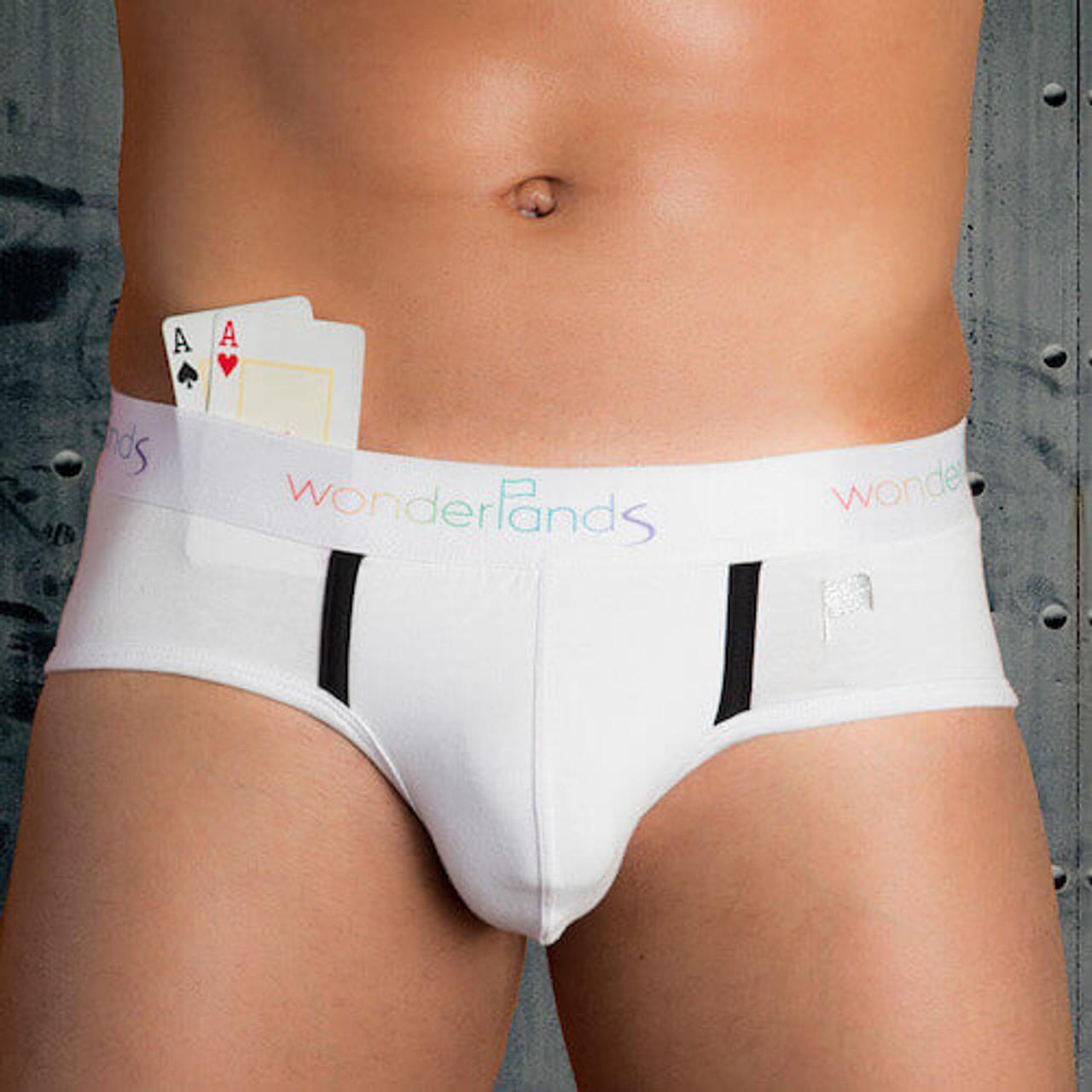 LA 18 - Sustainable & Sexy Organic Men's Underwear - Wonderlands Briefs