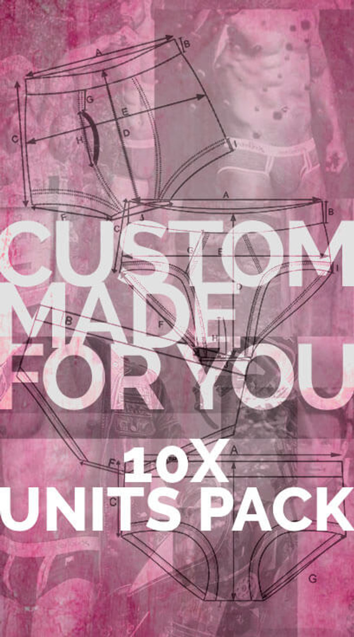 9f8f2ca6ad9 Customise your underwear 10x units pack fully customisable mens underwear  in organic cotton
