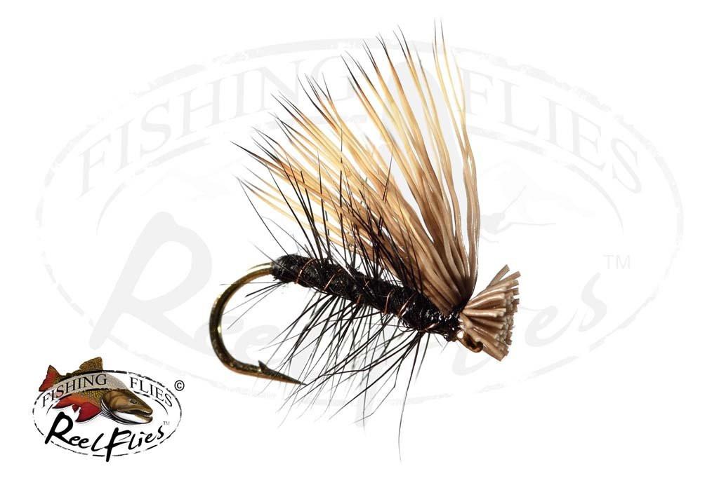 Elk Hair Caddis Black