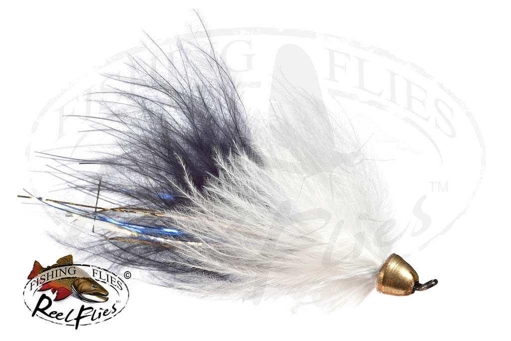 CH Popsycle Black White Streamer Fly