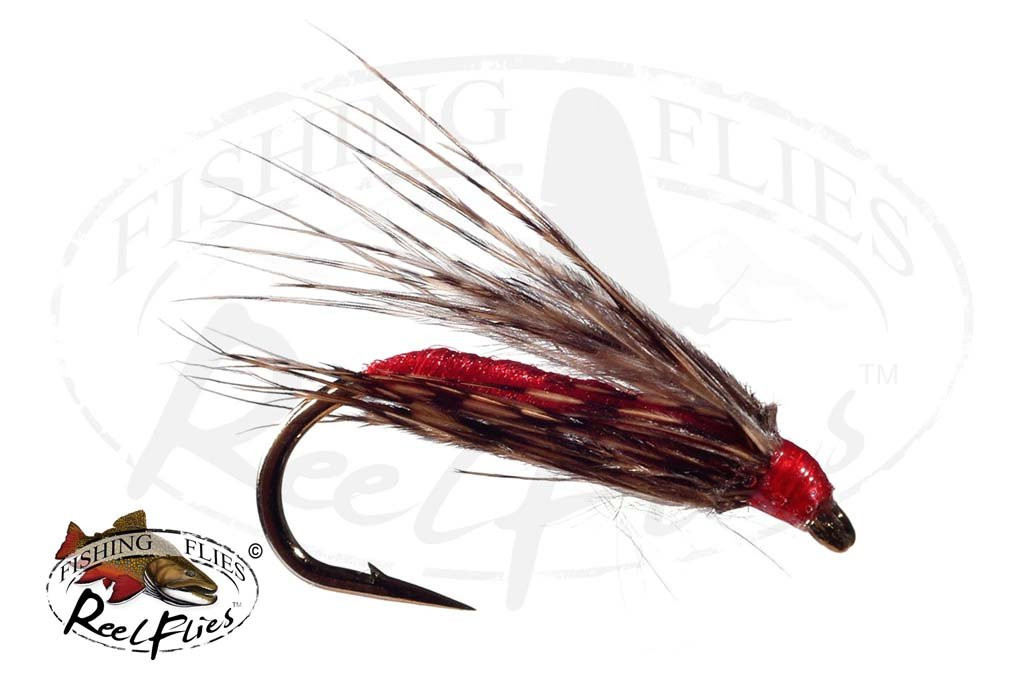February Red Soft Hackle