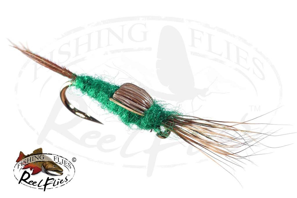 Elk Wing Emerger Green