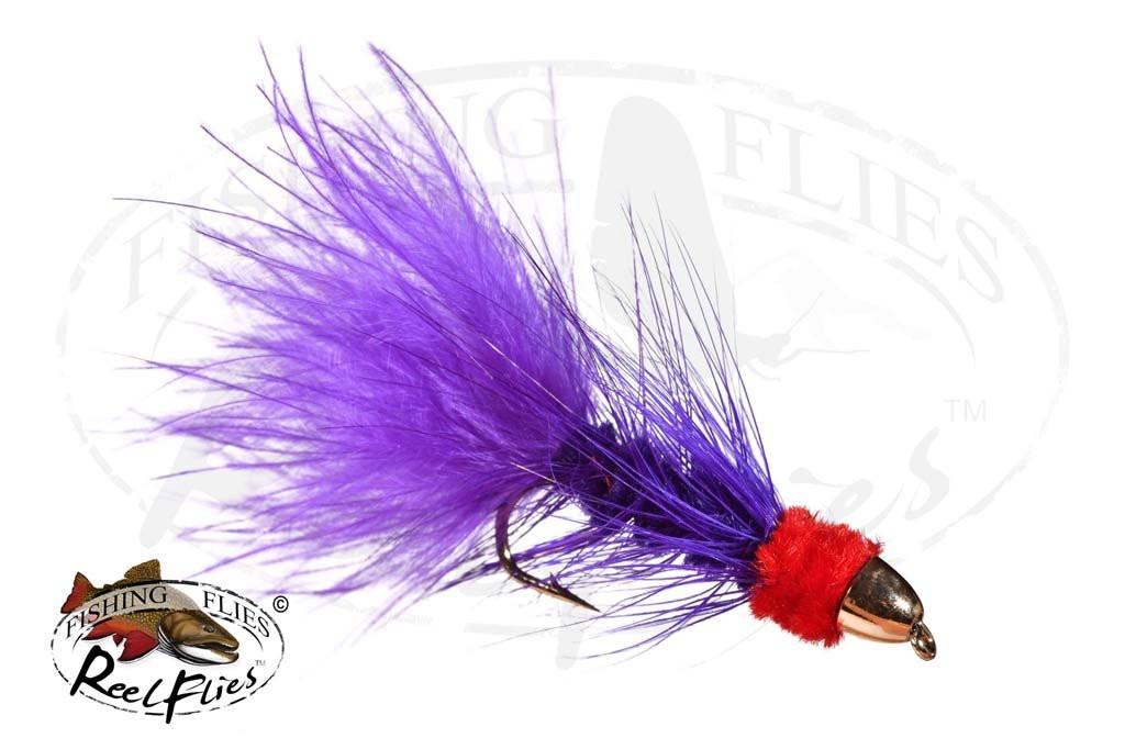CH Egg Sucking Leech Purple Red Head