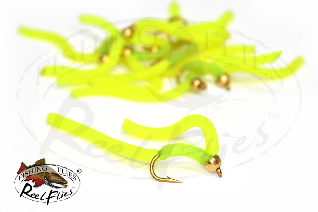 Squirmy Worm Chartreuse