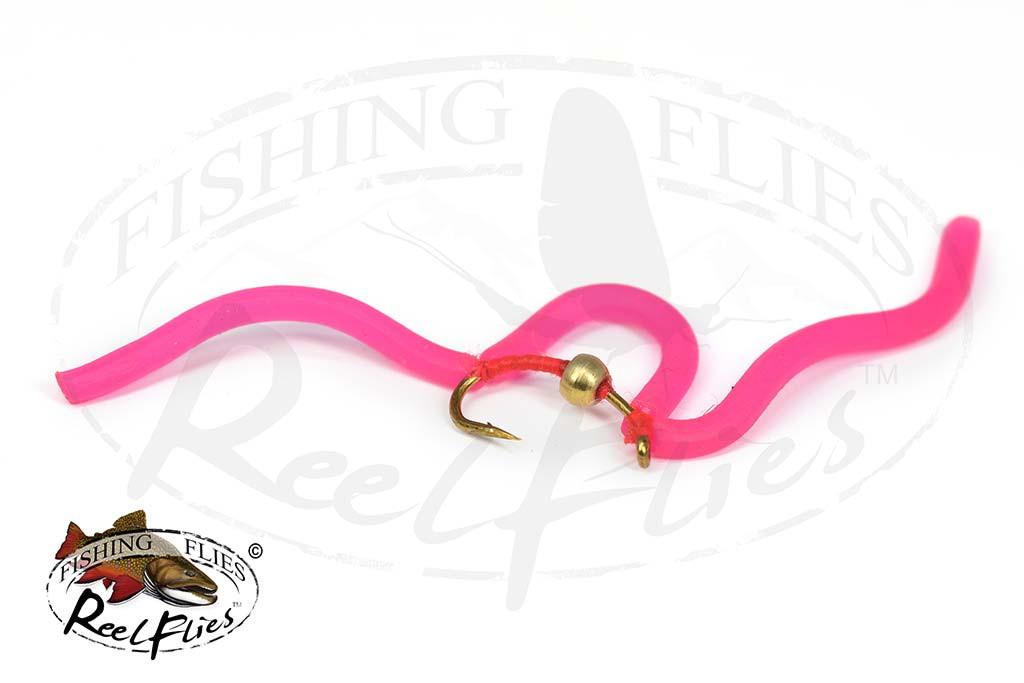 San Juan Squirmy Worm Pink - RF-8235
