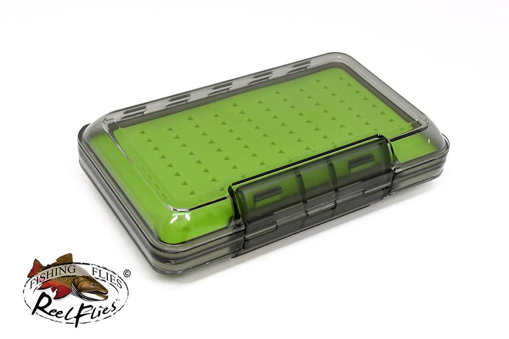Double Sided Silicon Foam Fly Box Large