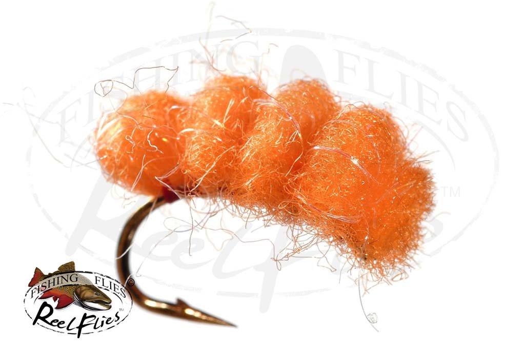 Bright Orange Cluster Egg