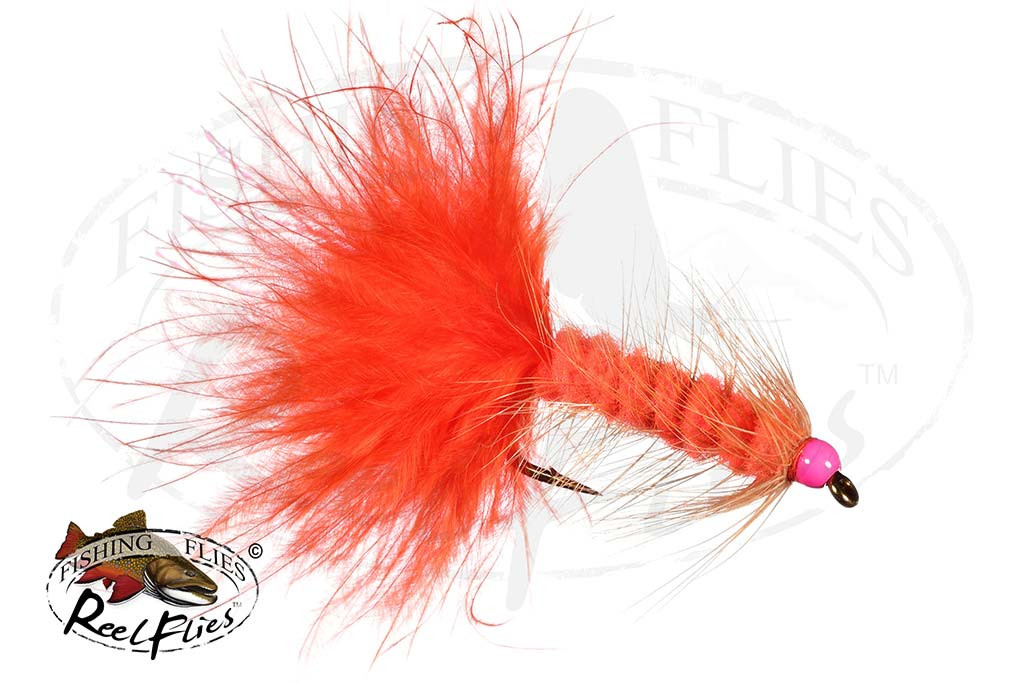 BH Orange Candy Woolly Bugger